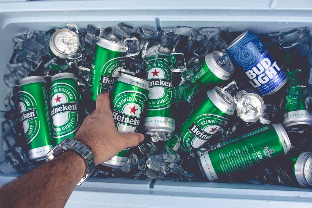 Beer Cooler Heineken