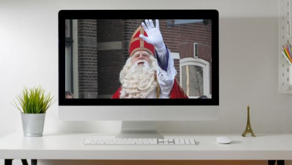 Ontmoet Sinterklaas via Zoom! – 29 november